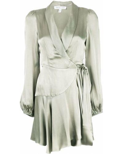 Платье макси с запахом с длинными рукавами Shona Joy