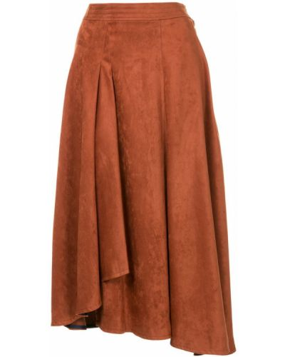 Расклешенная юбка с оборками Frei Ea
