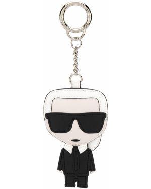 Брелок с логотипом с вышивкой Karl Lagerfeld