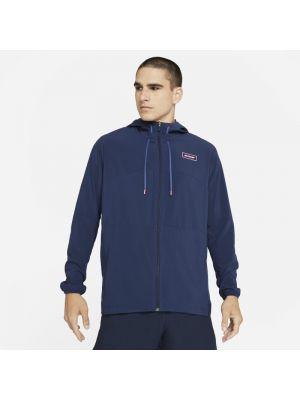 Niebieska kurtka sportowa Nike