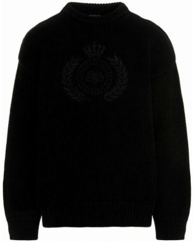 Sweter - czarny Balenciaga
