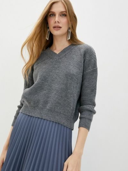 Серый пуловер Liana