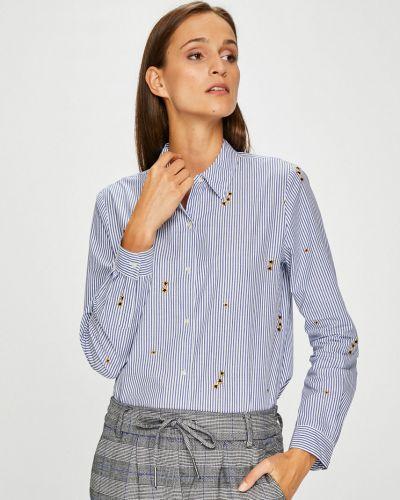 Блузка с длинным рукавом с вышивкой в полоску Scotch & Soda