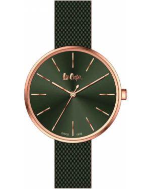 Водонепроницаемые часы кварцевые зеленый Lee Cooper