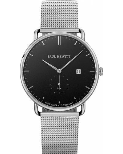 Часы водонепроницаемые немецкий серебряный Paul Hewitt