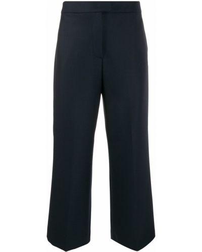 Укороченные брюки с завышенной талией свободные Pt01