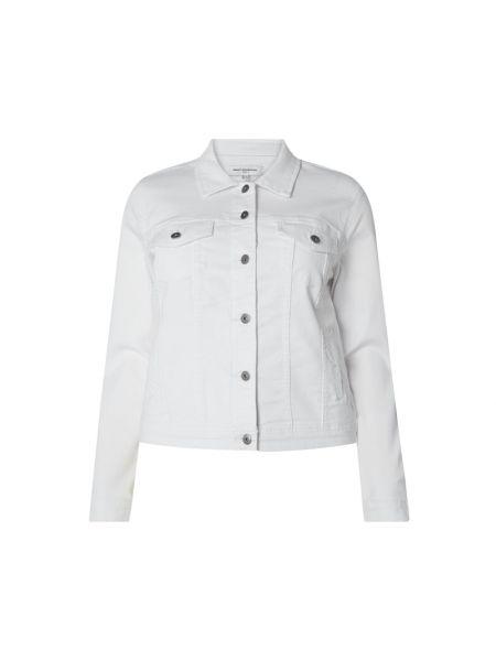 Biała kurtka jeansowa bawełniana Only Carmakoma