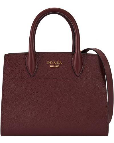 Кожаный сумка городская Prada