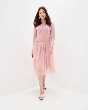 Платье осеннее прямое Zarina