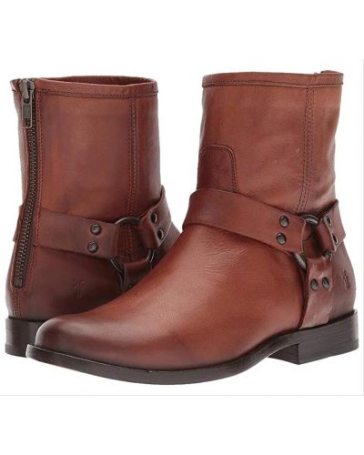 Ботинки - коричневые Frye