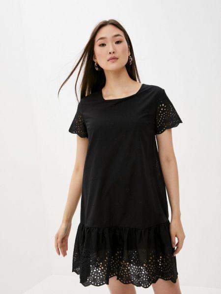 Черное повседневное платье Blugirl Folies