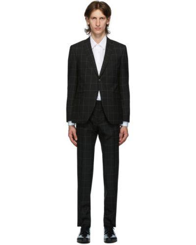 Wełniany garnitur Boss