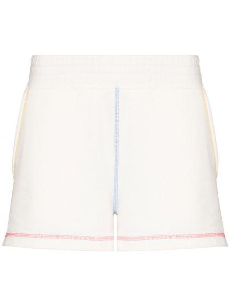 Хлопковые шорты - белые Rails