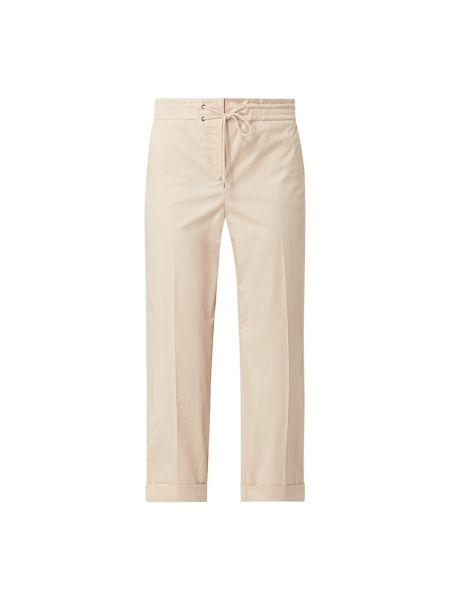 Białe spodnie bawełniane Riani