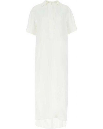Biała sukienka Agnona