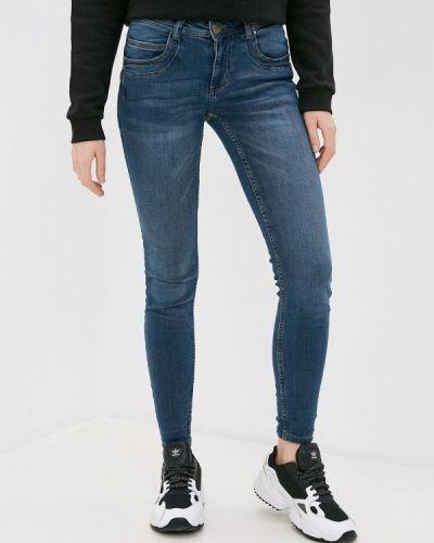 Синие джинсы-скинни узкого кроя Stitch & Soul