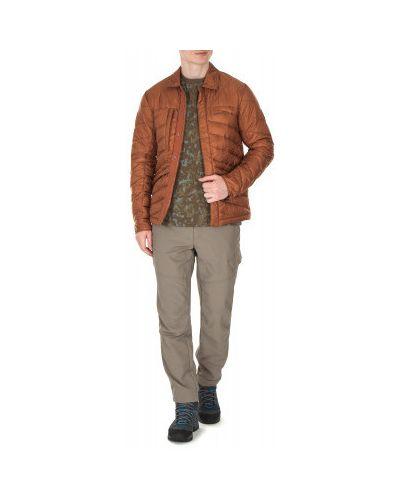 Утепленная куртка с капюшоном спортивная укороченная Merrell