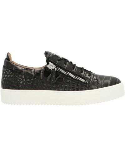 Sneakersy - czarne Giuseppe Zanotti