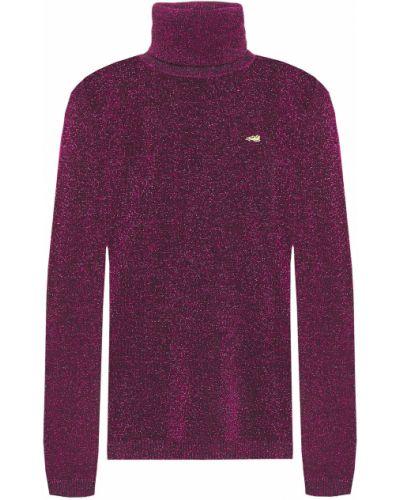 Вязаный свитер с вышивкой металлический Bella Freud