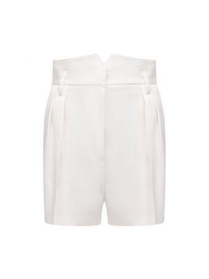 Хлопковые шорты - белые Barbara Bui