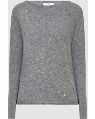 Серый кашемировый свитер Allude