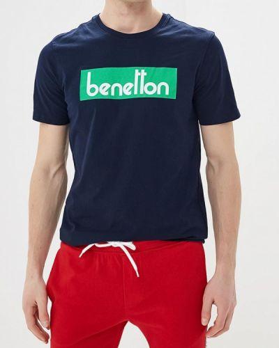 Синяя футболка 2019 United Colors Of Benetton