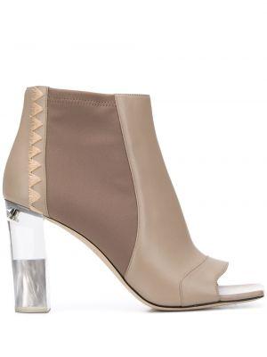 Buty na obcasie na pięcie kwadratowy Emilio Pucci