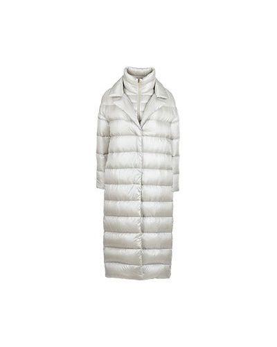 Пальто бежевое пальто Herno