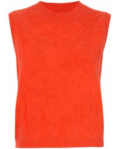 Топ без рукавов - оранжевый Zambesi