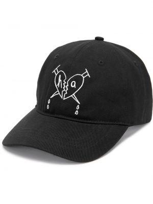 Czarna czapka z daszkiem Haculla