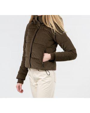 Куртка пуховый зеленая Columbia