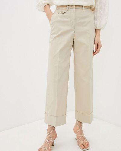 Повседневные бежевые брюки Seventy