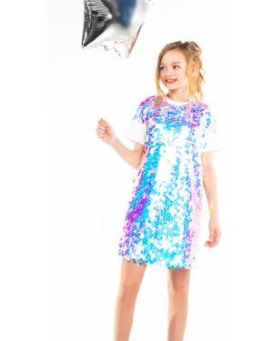 Платье с рукавами с пайетками Orby