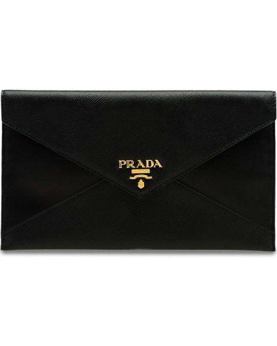 Папка черный для документов Prada