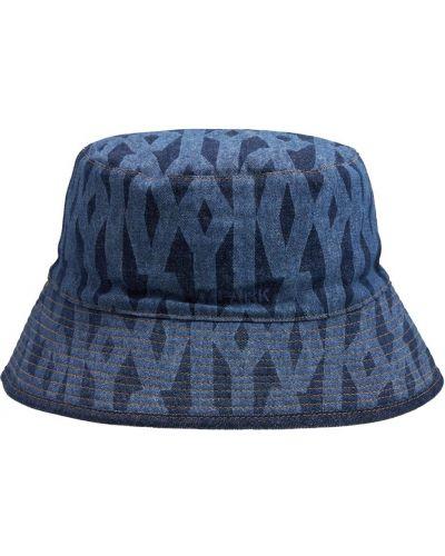 Синяя джинсовая шапка Adidas X Ivy Park