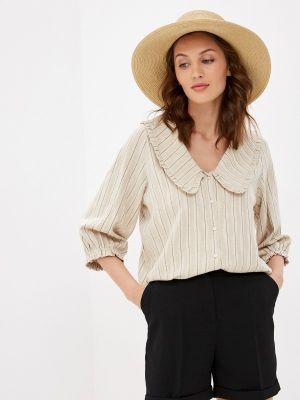 Бежевая блузка с длинными рукавами Soaked In Luxury