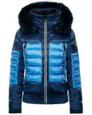 Синяя горнолыжная куртка Toni Sailer