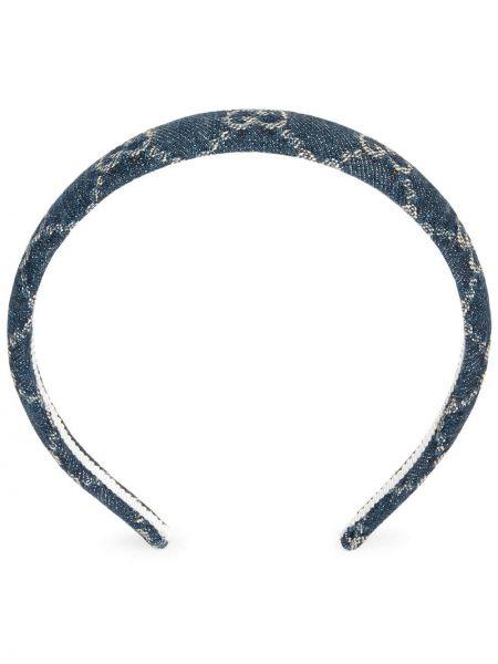 Bawełna bawełna niebieski jeansy Gucci