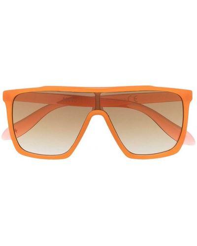 Прямые оранжевые солнцезащитные очки Molo