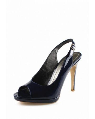Синие босоножки на каблуке Blizzarini