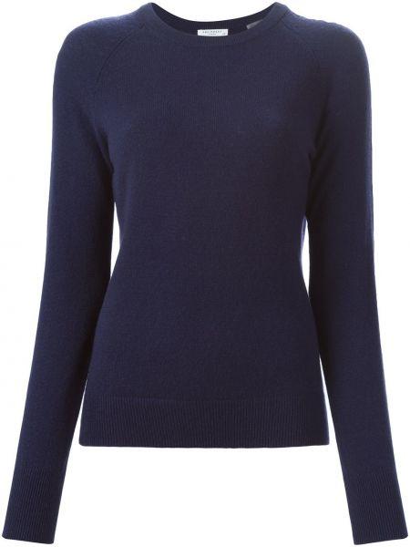 Синий кашемировый свитер с круглым вырезом Equipment