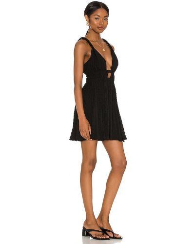 Sukienka elegancka - czarna Majorelle
