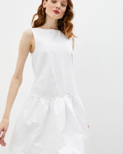 Повседневное белое платье Armani Exchange