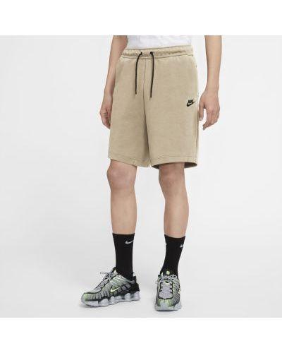 Флисовые шорты с карманами на молнии Nike