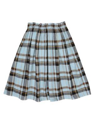 Bawełna bawełna niebieski spódnica Morley