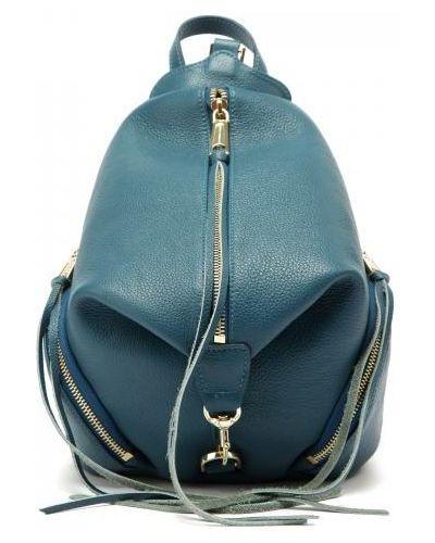 Рюкзак синий Rebecca Minkoff