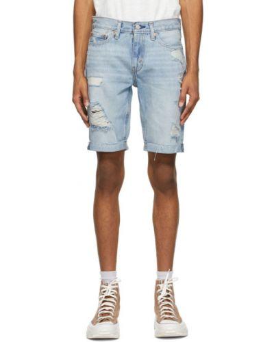 Желтые джинсовые шорты с карманами с манжетами Levi's®