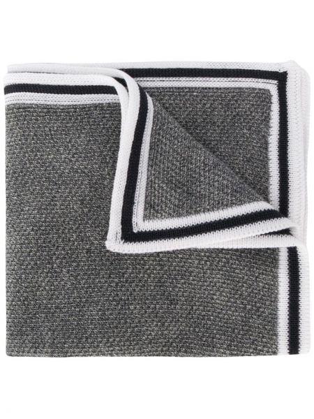 Платок серый в полоску Canali