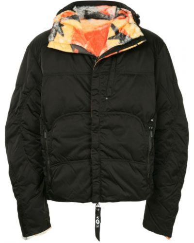 Черная куртка Kru
