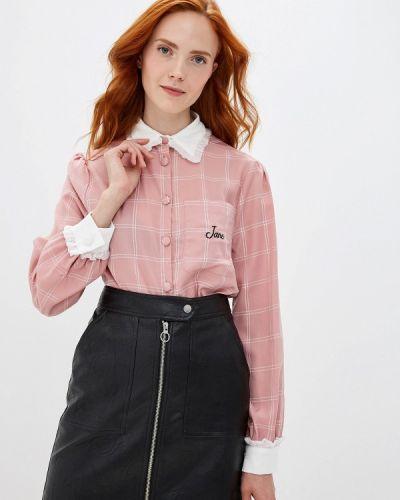 Блузка с длинным рукавом розовая Sister Jane